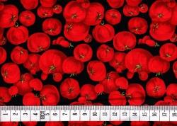 Látky - vzor 123922 Rajčata 1 -