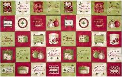 vzor 4495-001 Vánoce panel 001 -
