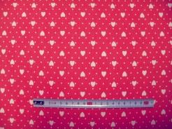 vzor 121543-5018 Srdíčka na růžové -