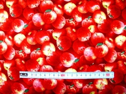 Látky - vzor 260 Jablka -