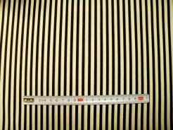 vzor 23568 Santoro  -  pruh černo - bílý -