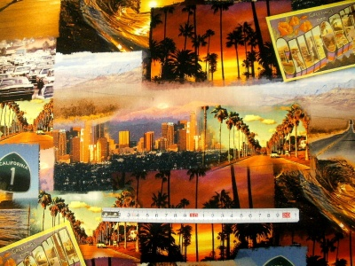 Látky Patchwork - Kalifornie