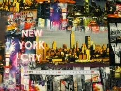 Látky - vzor 37001-361 New York - Šířka 160  cm