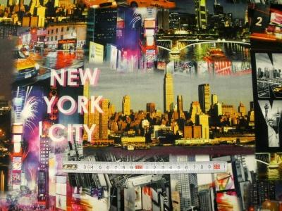 Látky Patchwork - New York