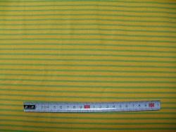 vzor 122031-0850 Proužek zeleno-žlutý  -  JERSEY -