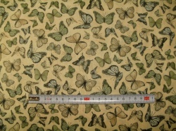 vzor 601011 Santoro 11 - motýli  zelení -