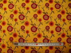 vzor 601043 Sun Flower Garden - květy žluté -