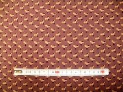 vzor 8815-3 Kolečka na fialové -