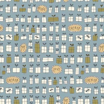 Látky Patchwork - Under the Mistletoe 307
