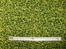 vzor 123546-0809 Ornament zelený -