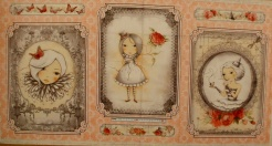 vzor 17-001 Mirabelle 2 - La vie en Rose 01 - Panel   60 cm