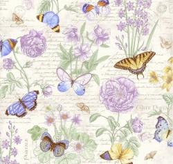 vzor 4702-874 Butterfly Botanical 874 -
