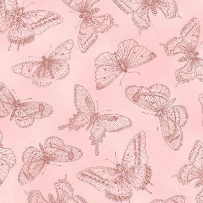 Látky Patchwork - Butterfly Botanical 878