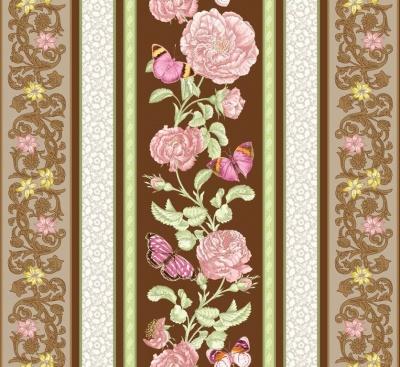 Látky Patchwork - Butterfly Botanical 881