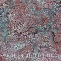 Látky - vzor 3349-716 Hoffman Bali batika 716 -