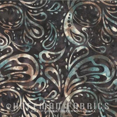 Látky Patchwork - Hoffman Bali batika 338