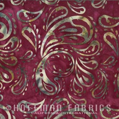 Látky Patchwork - Hoffman Bali batika 408