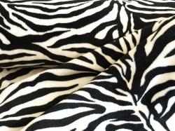 vzor 124081-0801 Fleece - srst zebra -