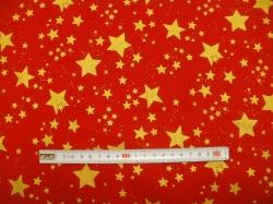 vzor 119514-1030 Hvězdy na červené -