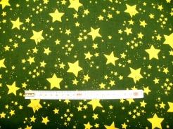 vzor 119514-1031 Hvězdy na zelené -