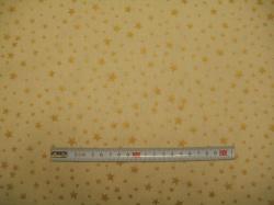 vzor  122350-1180 Hvězdičky 04 na béžové -