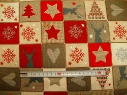 vzor  126745-0801 Vánoční kostky -