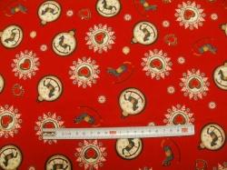 vzor  125085-5019 Ozdoby na červené -