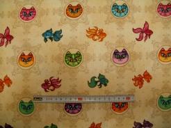 vzor 602340 Dan Morris -rybičky a kočky -