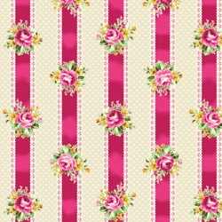 Látky - vzor 4523-354 Quilt Gate Tea Party 354 -