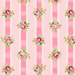Látky - vzor 4523-355 Quilt Gate Tea Party 355 -