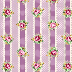 Látky - vzor 4523-358 Quilt Gate Tea Party 358 -