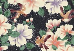 Látky Patchwork - Quilt Gate - Hyakka Ryoran 660