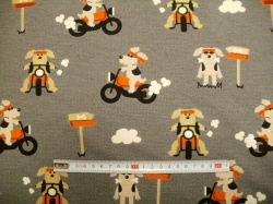 vzor 1158-013 Pes na motorce -