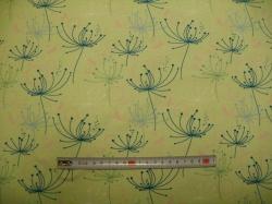 vzor 128406-3007 Perokresba na zelené -