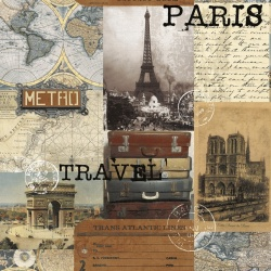vzor 2503-394 Destination PARIS 394 -