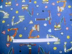 vzor 128540-3002 Jeřáb na modré -