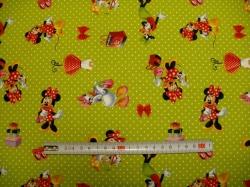 Látky - vzor 125983-0801 Walt Disney - myška - Digitální tisk