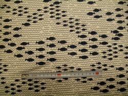Látky - vzor 19-396 Avalana - rybičky -