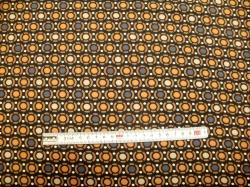Látky - vzor 19-600 Avalana - hnědá kola -