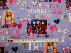 Látky - vzor 128458-0801 Barbie -