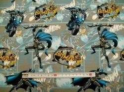 Látky - vzor 128468-0801 Batman II. - Digitální tisk