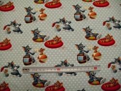 Látky - vzor 128463-0801 Tom a Jerry  I. - Digitální tisk