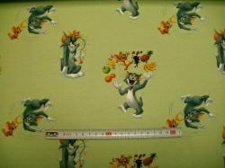 Látky - vzor 128460-0801 Tom a Jerry   III. - Digitální tisk