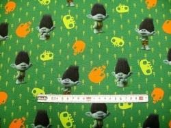 Látky - vzor 127906-0801 Trolls - trolíci  IV. - Digitální tisk