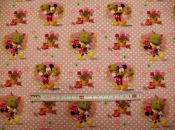 vzor 127537-0801 Mickey a Minie - Digitální tisk