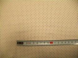 Látky - vzor 19-354 Puntíky na krémové -