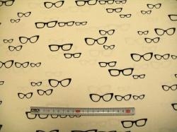 Látky - vzor 19-006 Brýle -