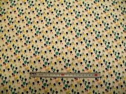 Látky - vzor 19-371 Balónky barevné -