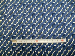 vzor 128912-3001 Puntíky na modré - EKO TEX  třída 1  - do 3 let