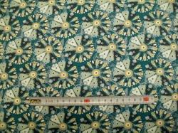 vzor 998447-0801 JERSEY - Tante Ema  květy 2 - EKO TEX tř.1